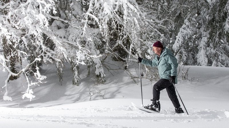 Ski raquette: l'avenir des promenades hivernales dans l'Arc jurassien?