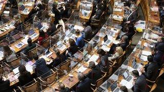 Mesures d'assouplissement: les conseillers nationaux neuchâtelois ont tous voté non