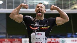 Athlétisme: Silvan Wicki établit un nouveau record de Suisse à Macolin