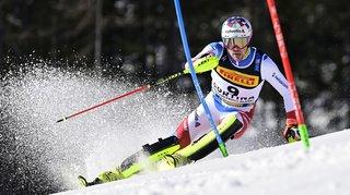 Ski alpin – Mondiaux de Cortina: Yule dans le coup après la 1ère manche du slalom, Meillard et Aerni éliminés