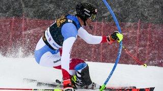 Ski alpin: Zenhäusern termine 3e du slalom de Kranjska Gora