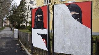 Une partie de la gauche neuchâteloise a soutenu l'initiative anti-burqa