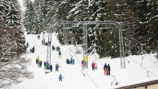 Les skieurs se sont rués sur les pistes