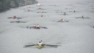 Régate d'aviron: la Thielle remplace le fleuve d'Amsterdam