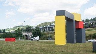 Pont de Malakoff: de gros travaux à l'entrée de La Chaux-de-Fonds
