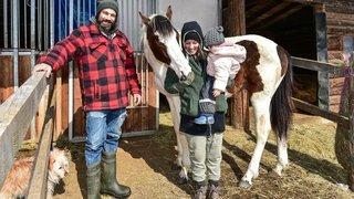 Val-de-Ruz: une «fée» pour les animaux rescapés de l'abattoir