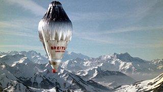En 1999, le premier tour du monde en ballon bouclé