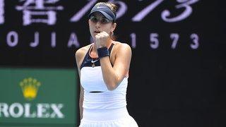 Tennis – WTA 500: Belinda Bencic jouera la finale à Adélaïde