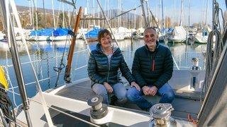 Neuchâtel: ils vivent toute l'année sur leur voilier