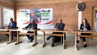 L'UDC neuchâteloise veut rendre le canton plus attractif en renforçant la droite du parlement