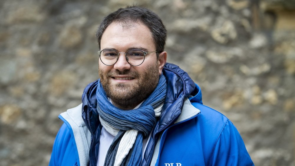 Fabio Bongiovanni, président du PLR du canton de Neuchâtel.