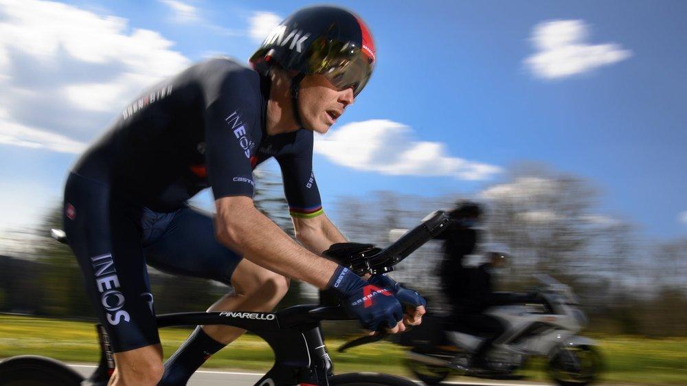 L'Australien Rohan Dennis a été intouchable sur le prologue du Tour de Romandie.
