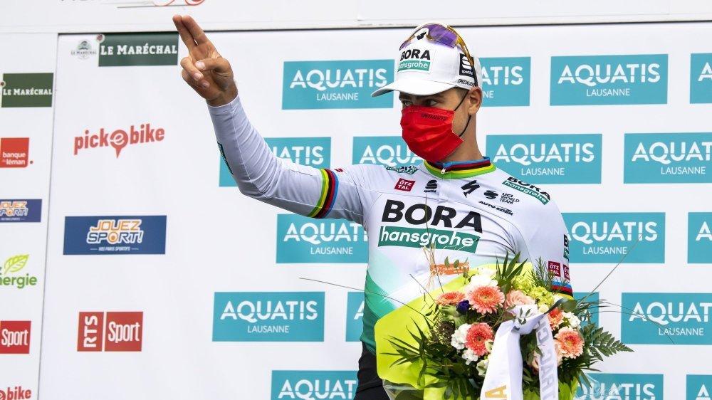 Peter Sagan a triomphé à Martigny sans coup férir.