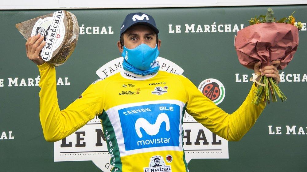 Marc Soler prend le maillot jaune et entend le conserver.
