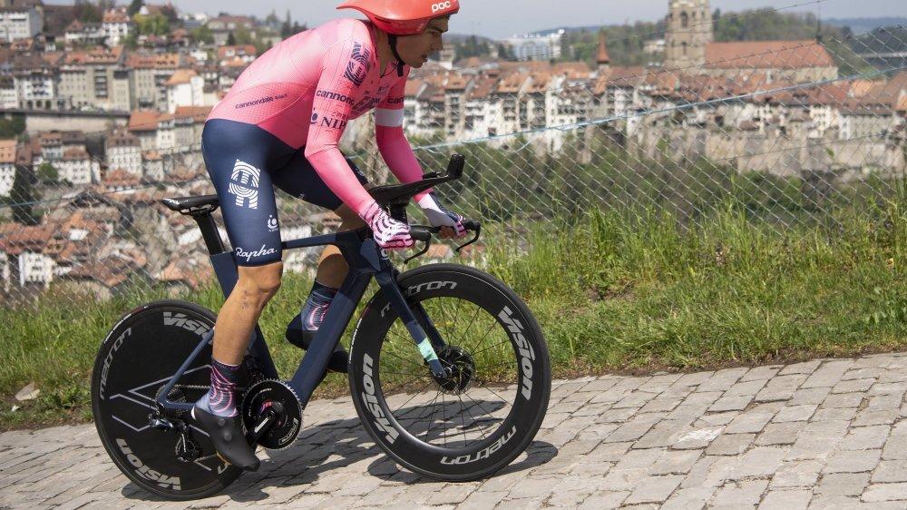 Stefan Bissegger a confirmé ses qualités de rouleur.