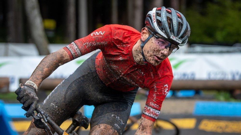 Les conditions de course étaient difficiles à Nove Mesto pour Alexandre Balmer et se rivaux.