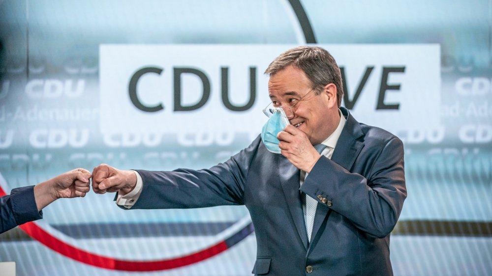 Armin Laschet, actuel président de la CDU, a reçu le soutien officiel de son parti pour le représenter lors des élections législatives en septembre prochain. Son rival bavarois, Markus Söder, ne rend cependant pas les armes, même s'il n'a plus aucune chance.