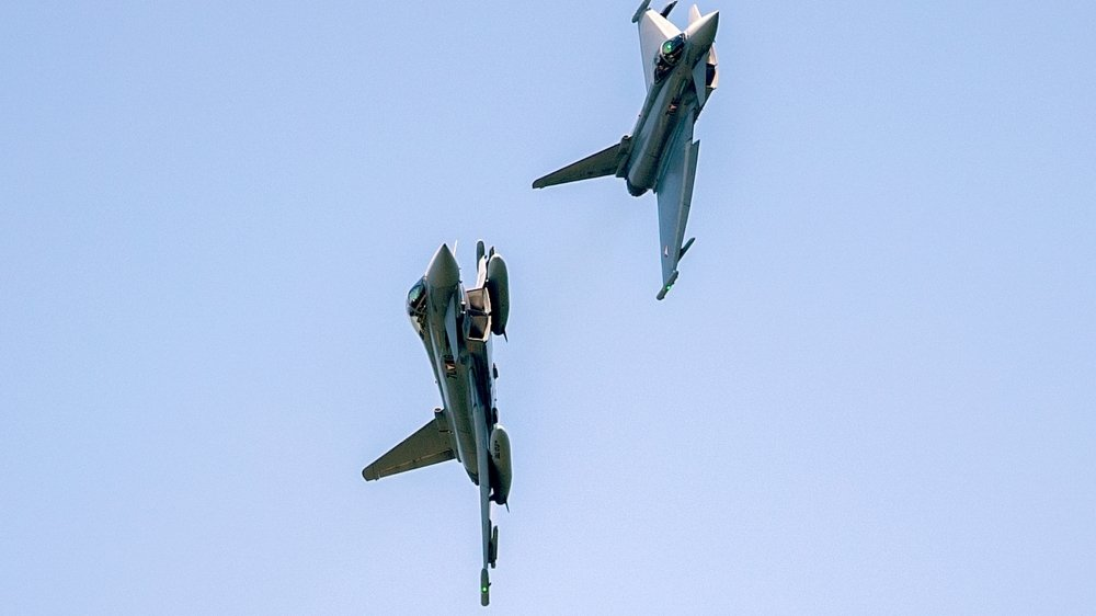 L'européo-allemand Eurofighter d'Airbus fait partie des favoris.