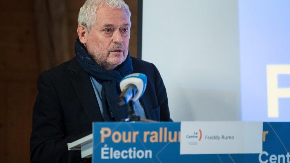 Chargé de communication du Centre, Freddy Rumo est heureux de l'élection de deux femmes au Conseil d'Etat.