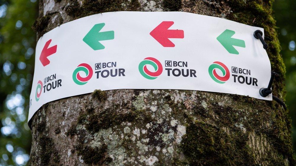 Il faudra bien suivre le balisage sur ce BCN Tour Challenge.