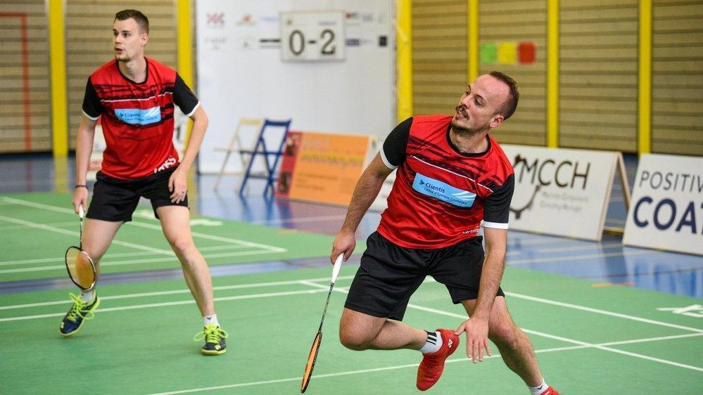 Gilles Tripet (à droite) et Mathias Bonny ont bouclé la saison 2020-2021 sur une égalité.