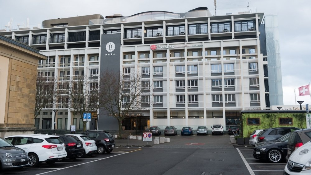 Les abords de l'hotel Beaulac, à Neuchâtel, seront transfigurés pour accueillir Imagination, du 1er au 6 septembre 2021.