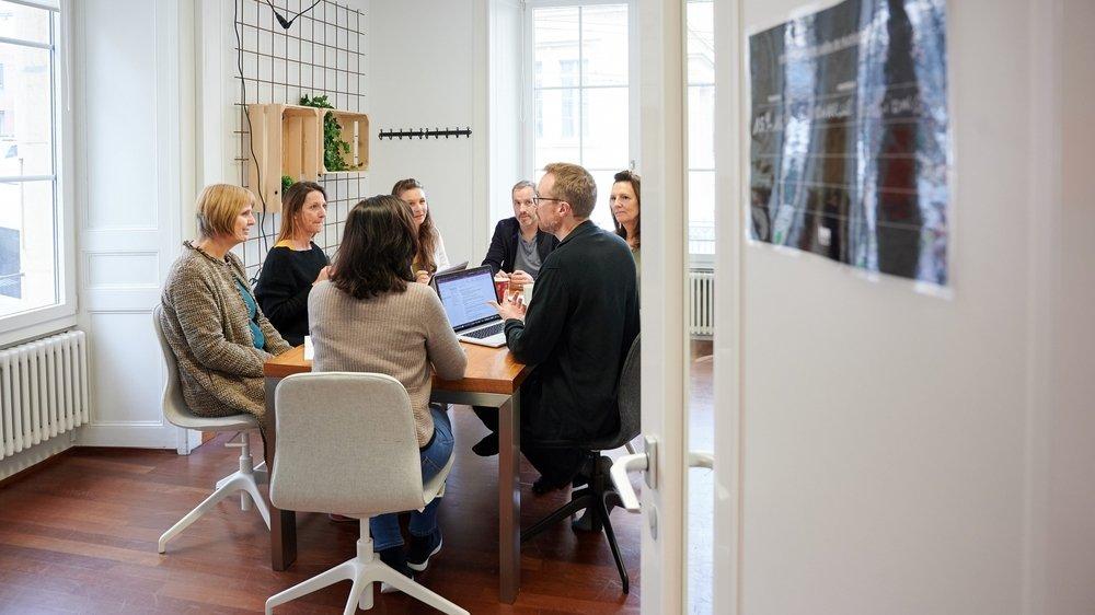 C'est par des ateliers collaboratifs que le STI vise à aider les entreprises à réaliser des objectifs de développement durable.