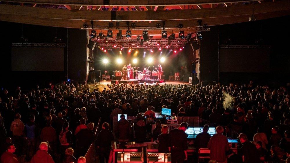 Souvenirs d'une époque qui paraît loin aujourd'hui: le concert du groupe Eels au Rock Altitude, en 2019.