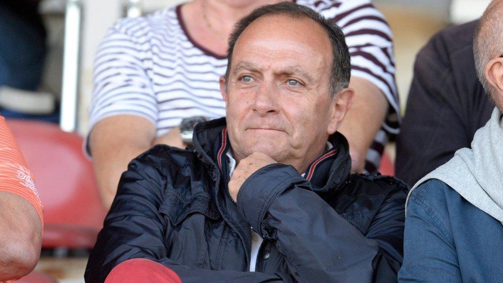 Sylvio Bernasconi, ici lors d'un match de Coupe de Suisse en 2016, peut être satisfait.