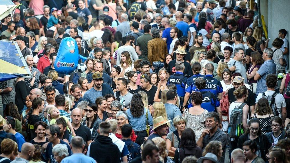 En temps normal, les Promos attirent 30 000 personnes chaque soir.