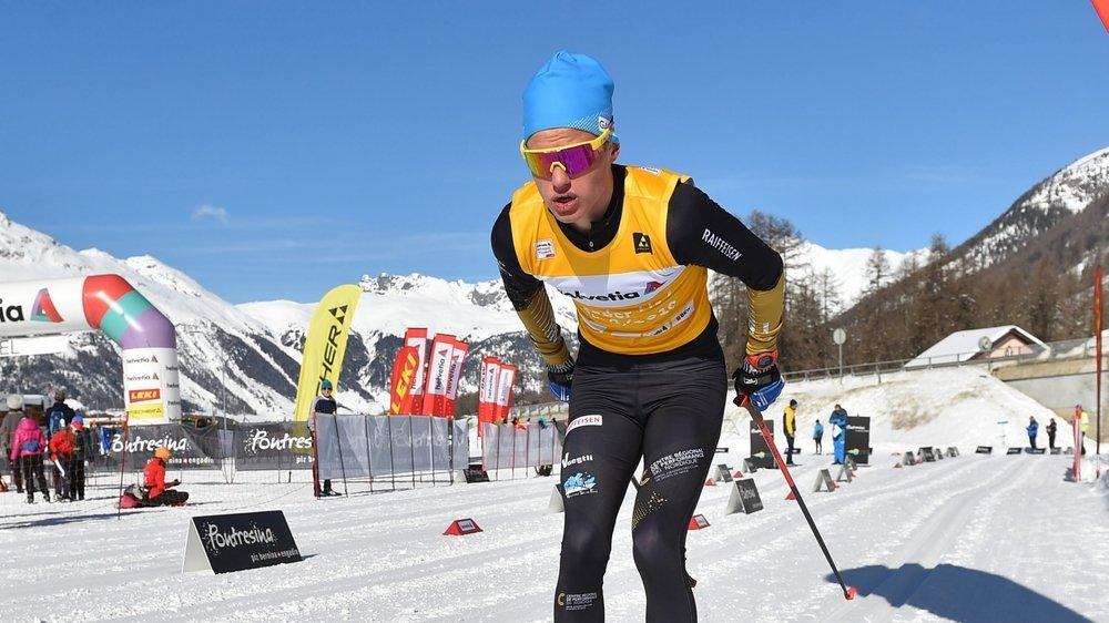 Ilan Pittier n'avait pas d'adversaire à sa taille lors du sprint en style classique.