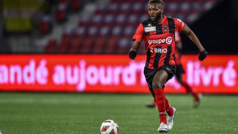 Louis Mafouta a inscrit un triplé face à Grasshopper. Récidivera-t-il contre Aarau?