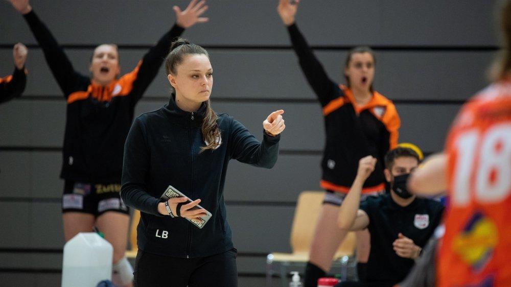 """""""Nous avons grandi durant cette série"""", affirme Lauren Bertolacci, la coach du NUC"""
