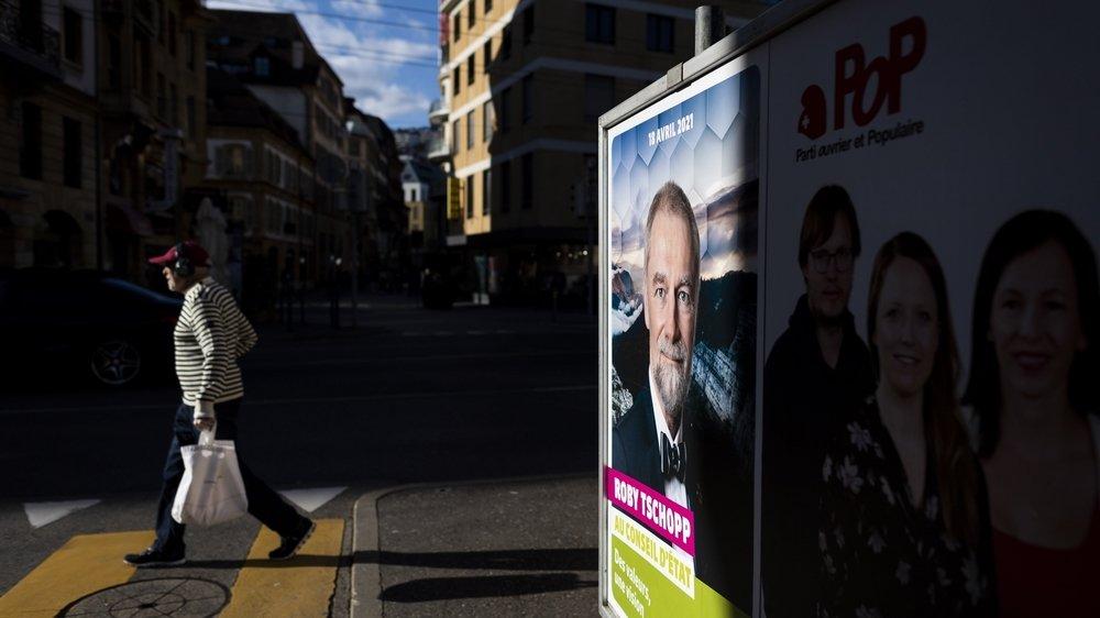 Les Verts et leur candidat Roby Tschopp ne cachent pas qu'ils lorgnent sur les terres du conseiller d'Etat Laurent Favre.