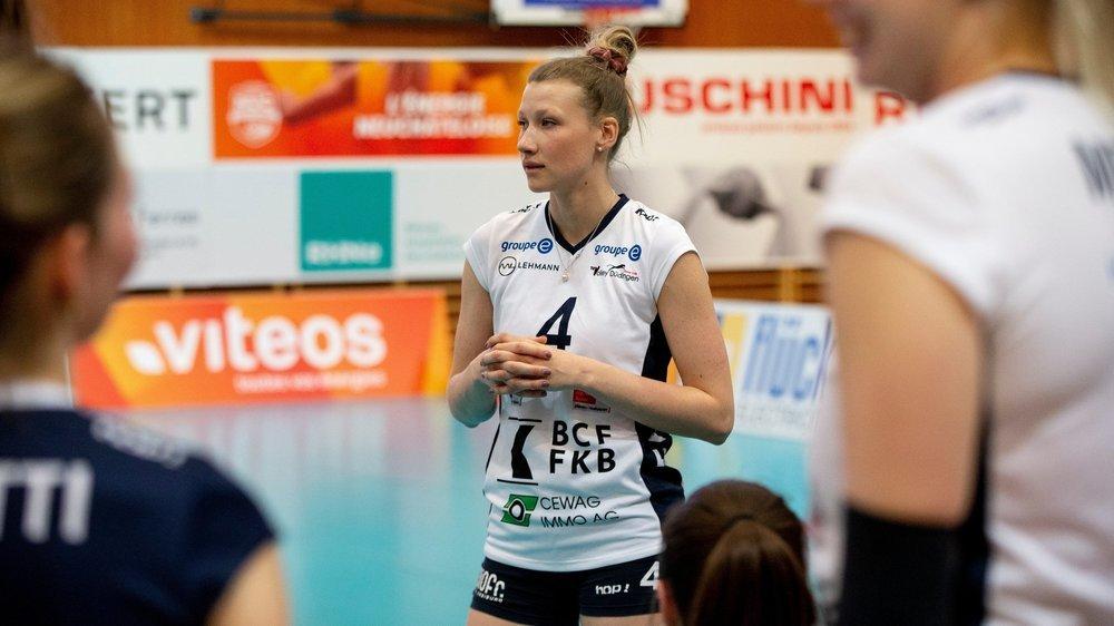 Méline Pierret est particulièrement motivée à l'idée de jouer contre son ancienne équipe.
