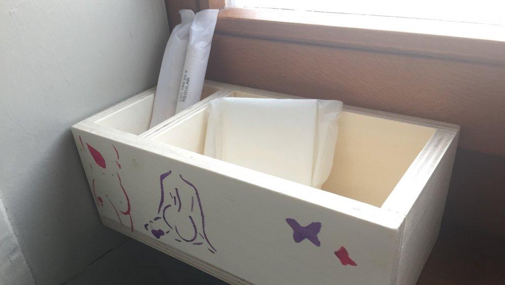"""Une des """"boîtes à règles"""" du lycée Jean-Piaget, à Neuchâtel."""