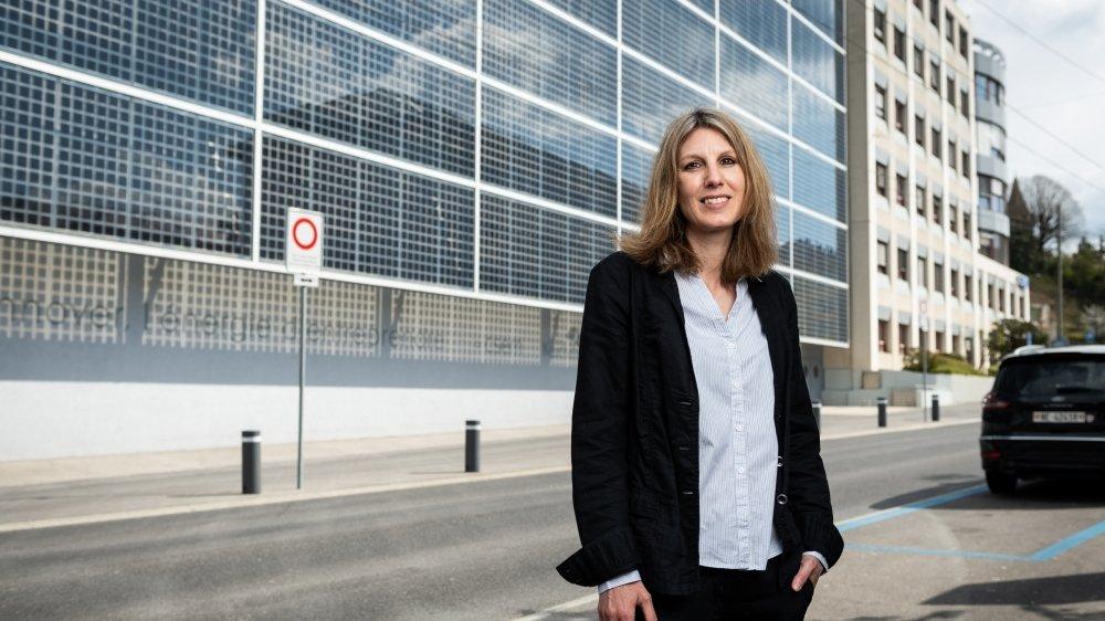 Véronique Leresche-Roy, DRH du CSEM.