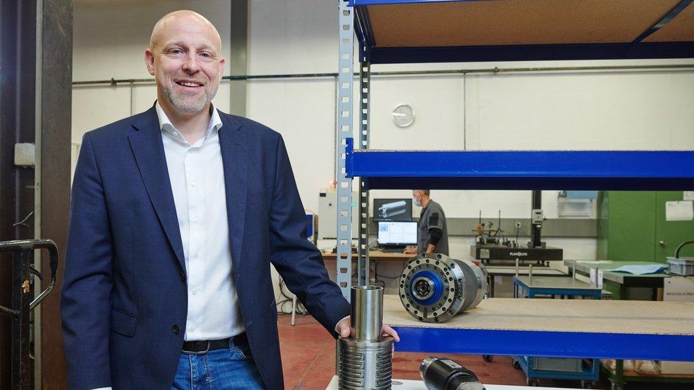 Dirigée par Martin Boeni, BBN Mécanique a conçu un boîtier intelligent pour les machines-outils, qui permet de prévenir les pannes.