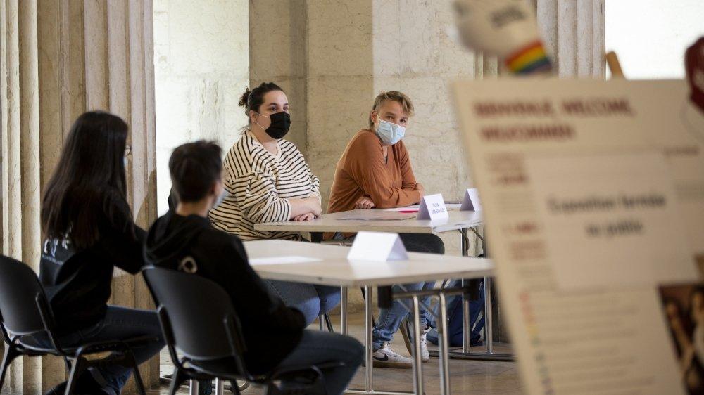 L'exposition est proposée par le Parlement des jeunes de Neuchâtel et l'association Togayther.