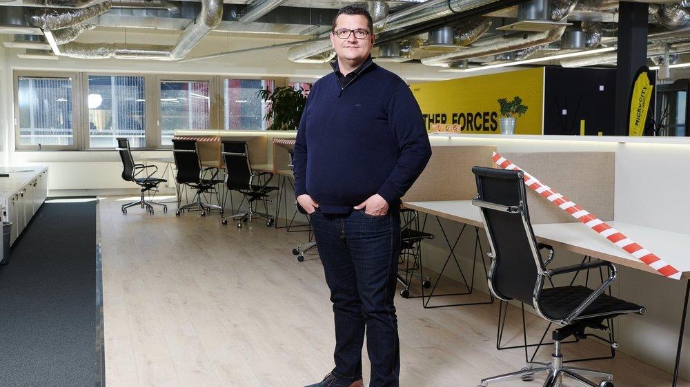 Ismaël Gensollen, cofondateur de Hub Factory.