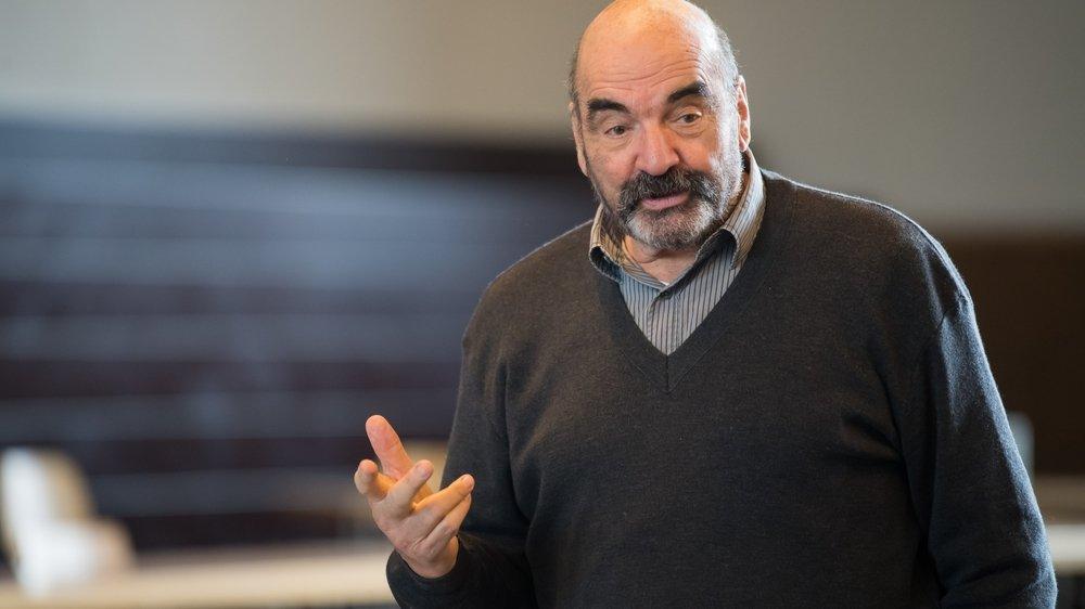 Jean-Pierre Egger, ancien athlète et entraîneur d'athlétisme.