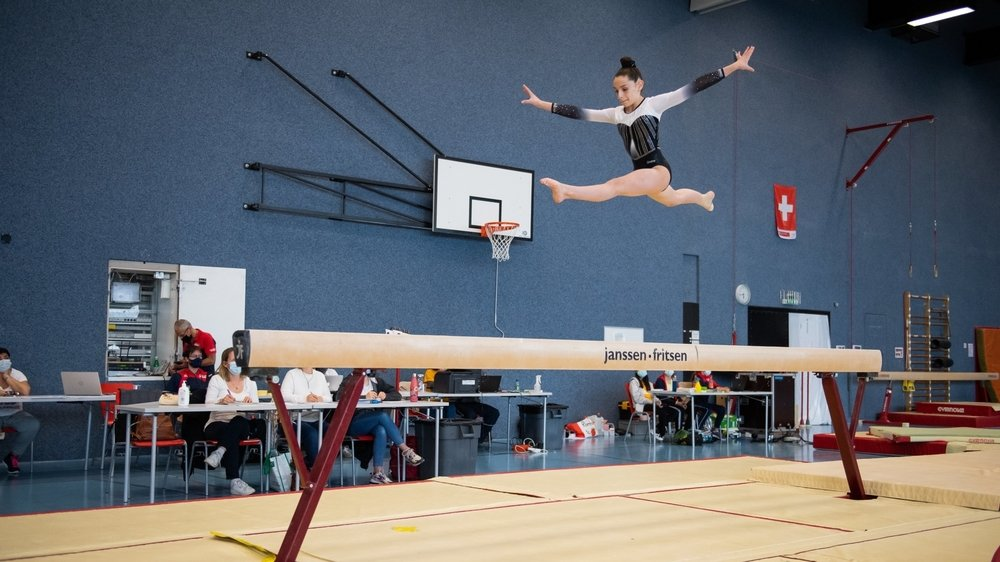 Angela Pennisi et les autres gymnastes ont pu reprendre la compétition à la Maladière.