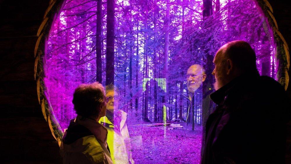 Le couple Delachaux, pivots de Môtiers Art en plein air, se trouve actuellement en plein montage de l'exposition.