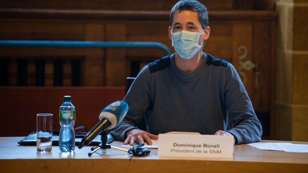 Médecin à Peseux, le docteur Dominique Bünzli est le président de la Société neuchâteloise de médecine (SNM).