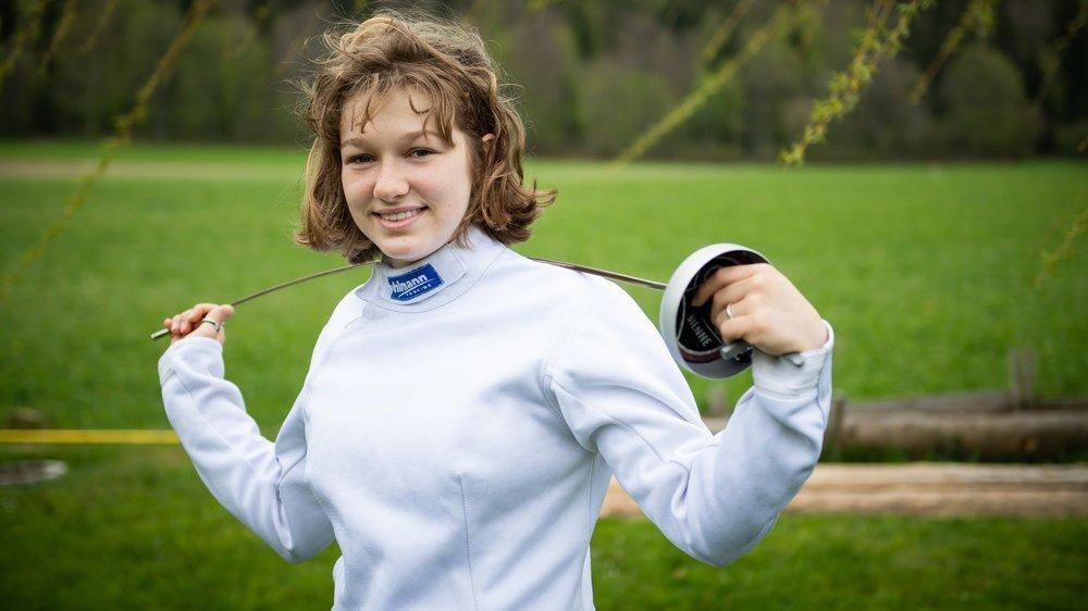 Vanie Gogniat se sent pleinement épanouie dans la pratique de son sport.