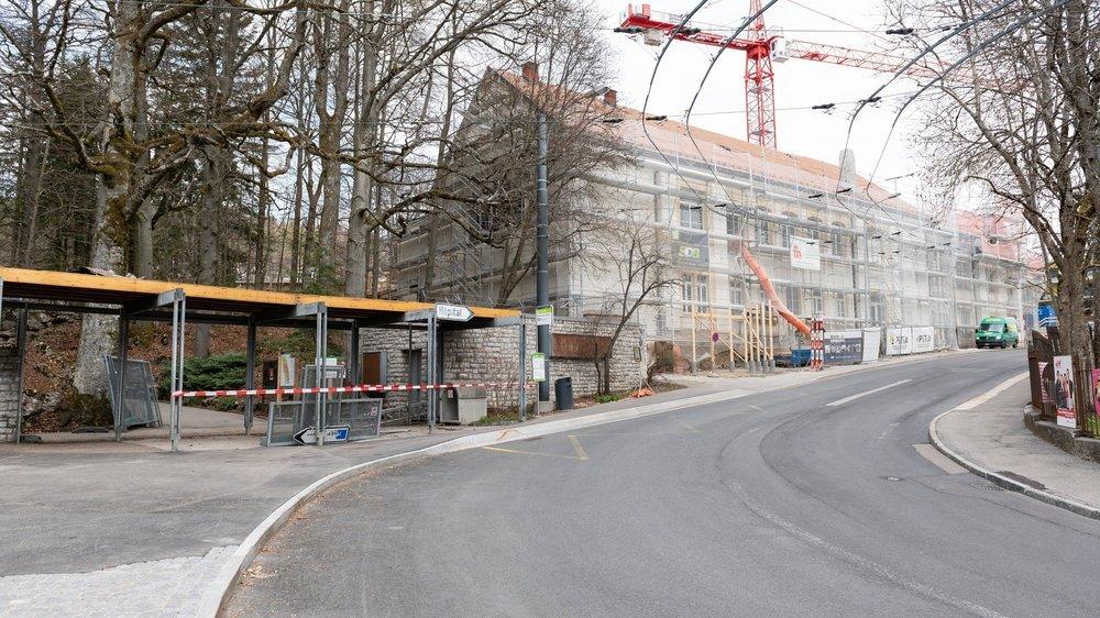 Le chantier du futur Musée d'histoire naturelle de La Chaux-de-Fonds s'achèvera en 2022.