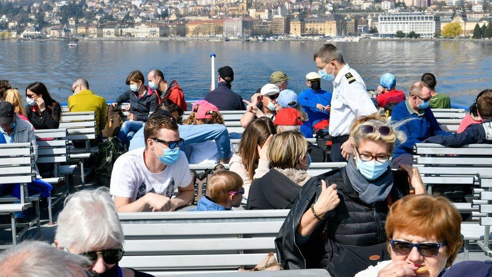 Une centaine de passager ont pris part à la première croisière de la saison.