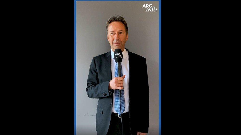 """Ce lundi, c'est Alain Ribaux qui répond à """"Questions pour une élection""""."""