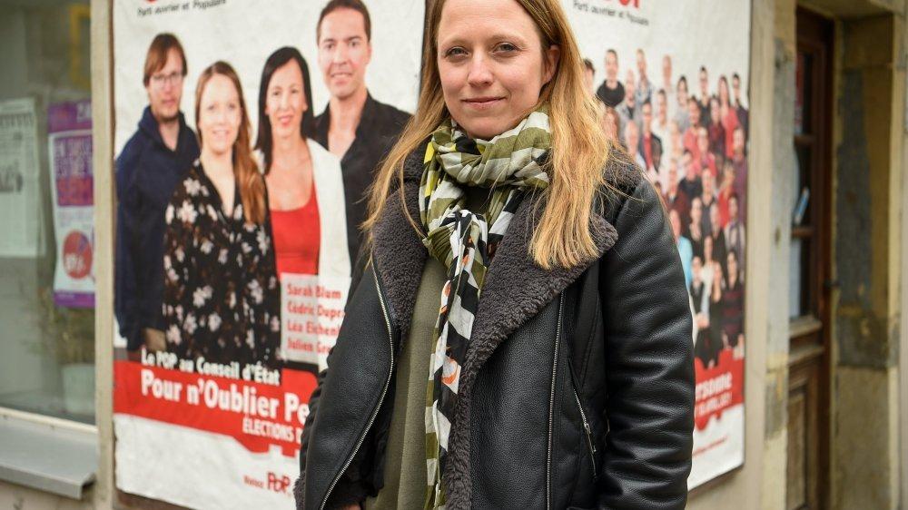 La popiste Sarah Blum a cartonné dans sa ville à La Chaux-de-Fonds.