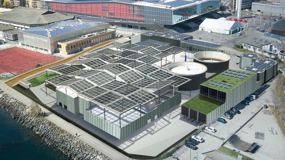 La Step de Neuchâtel ressemblera à ça en 2025.